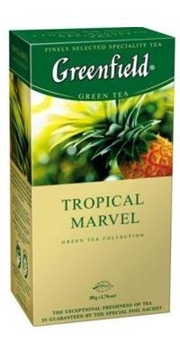 """Чай """"Greenfield"""" Tropical Marvel, 25 пакет"""