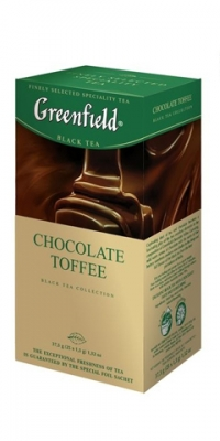 "Чай ""Greenfield"" Chokolate Toffee, 25 пакет"